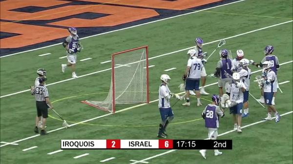 Iroquois Nationals vs Israel Highlights