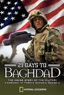 Image of 21 Days to Baghdad