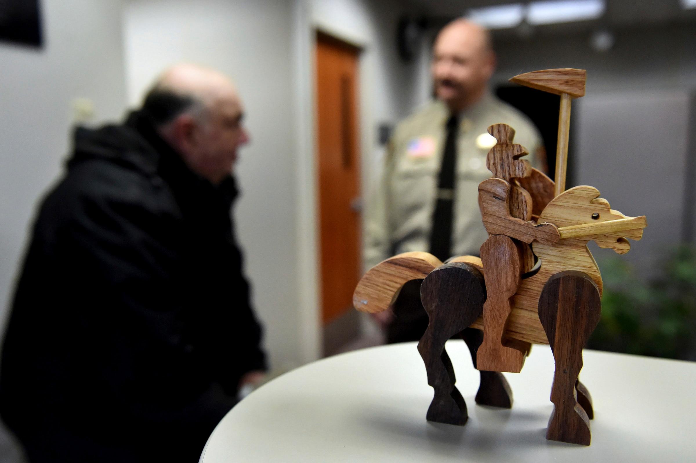 Air Force vet s handmade toys help fort kids in crisis