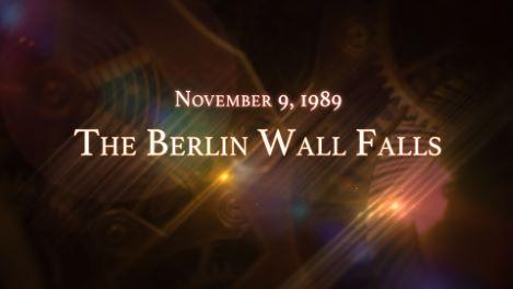 November 9, 1989: The Berlin Wall Falls