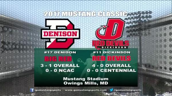 Denison vs Dickinson 3/17/17