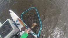 Kayak Fishing Montegut, Louisiana