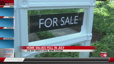Zillow: Bay Area home values fell in July