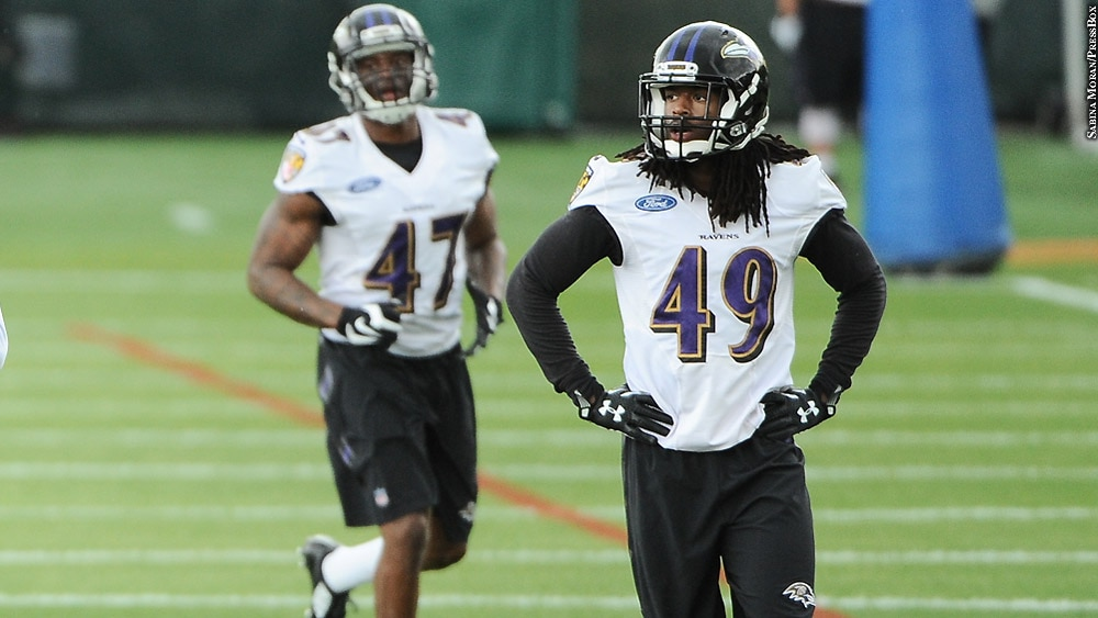 outlet store 7c628 2fd36 Maurice Canady Impressive In Ravens' OTA Workout