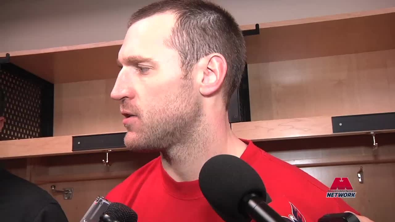 Brooks Laich Postgame 1/15/14