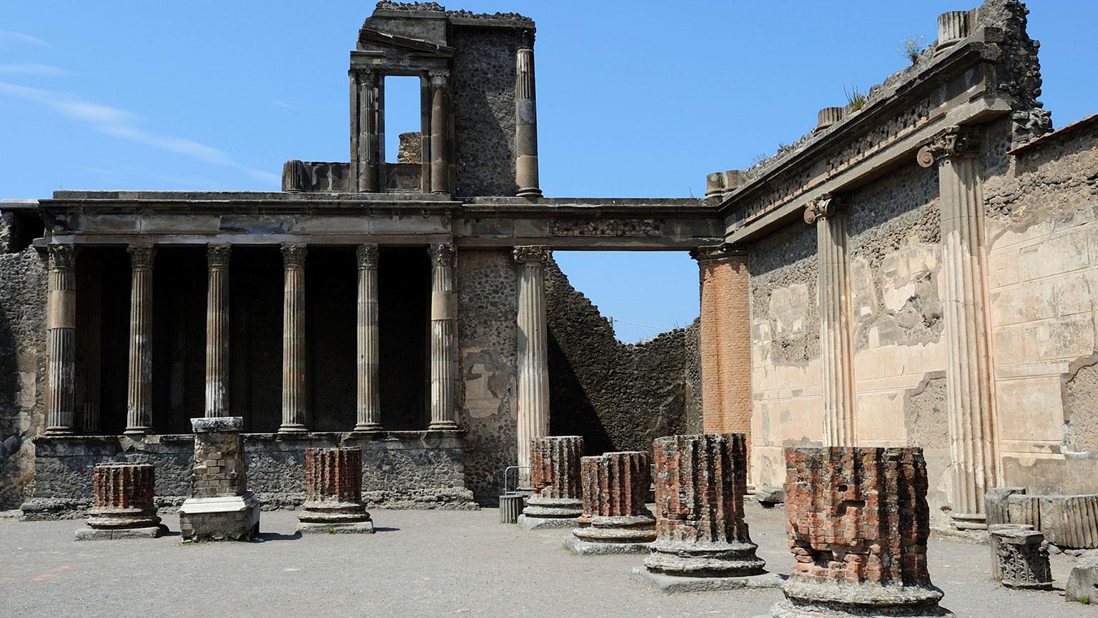 Samnite Pompeii—2nd Century B.C.