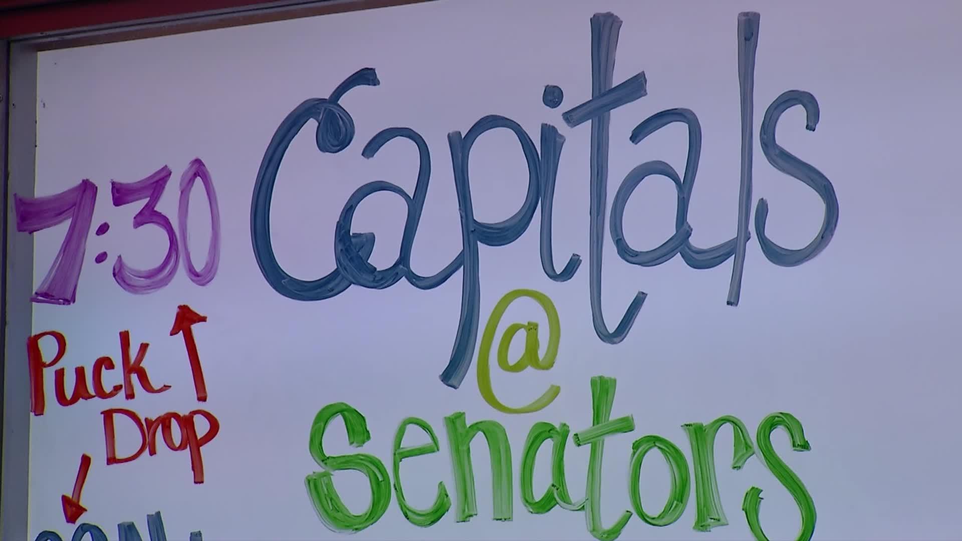 Caps Red Line: Caps @ Senators Pt 1 - 1-24-17