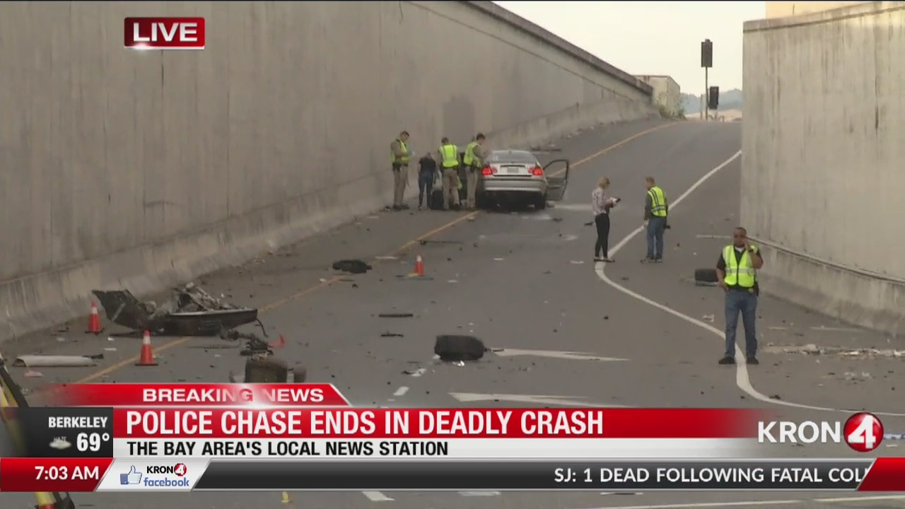 Police chase ends in deadly crash in the South Bay | kronon
