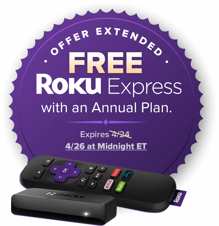 Roku Offer ends 4/26
