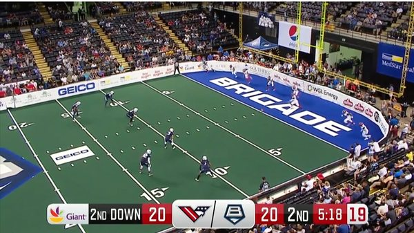AFL Week 12 Full Game: Valor at Brigade