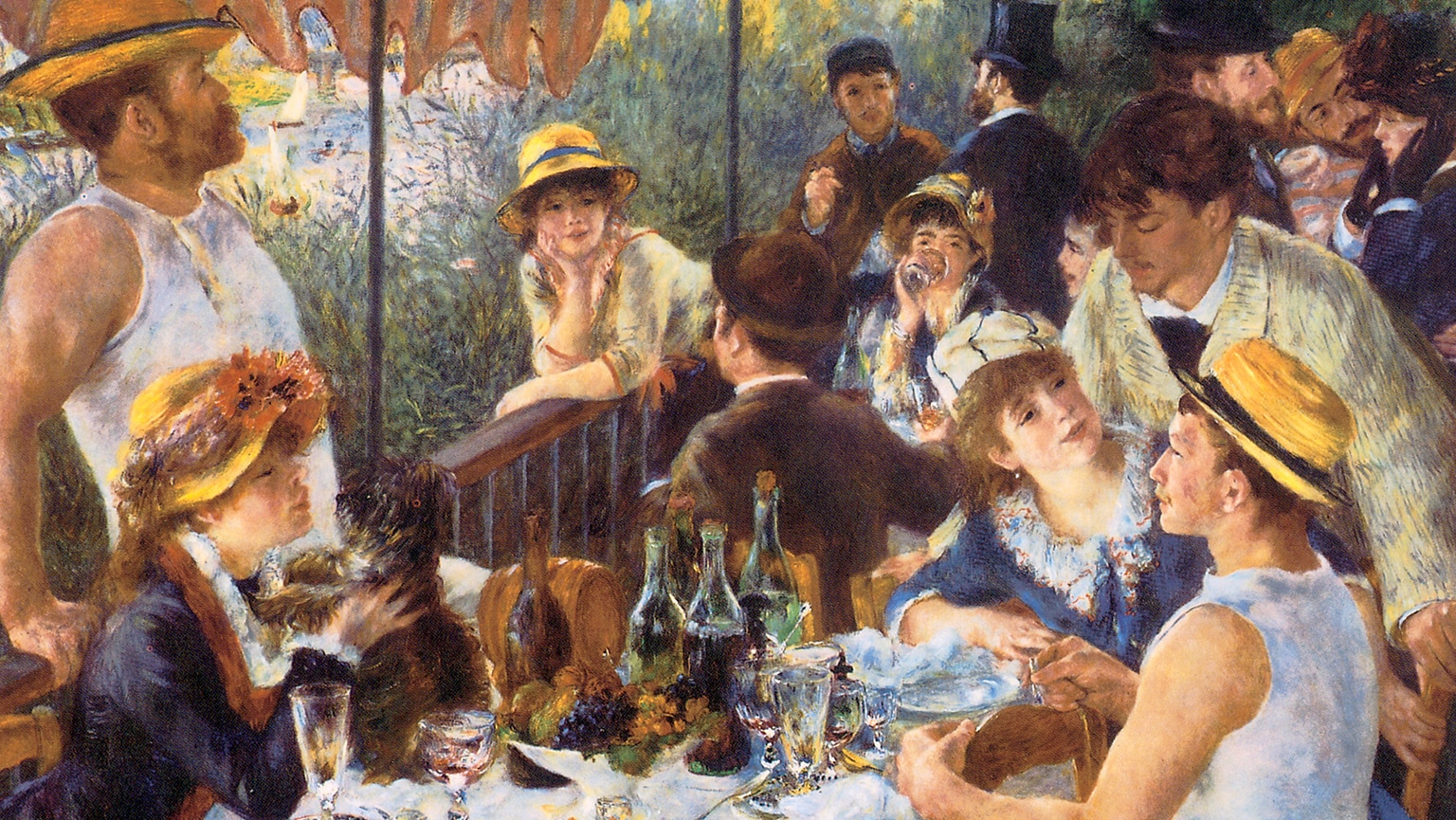 Renoir, Pissarro, and Cézanne
