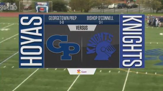 HS Football Showcase: Georgetown Prep vs. Bishop O'Connell