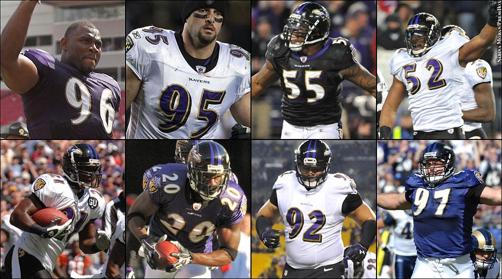 Ravens All Time Franchise Depth Chart Defense