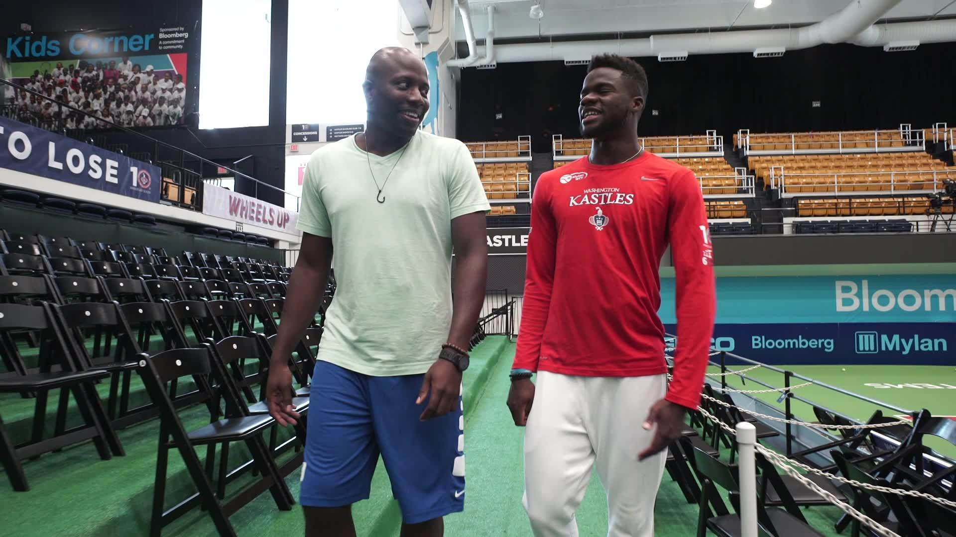 The Walk-and-Talk with Reggie Love: Frances Tiafoe