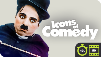 Icons of Comedy - 50 Movie Bundle
