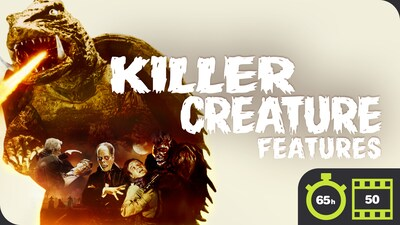 Killer Creature Features - 50 Movie Bundle
