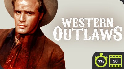 Western Outlaws - 50 Movie Bundle