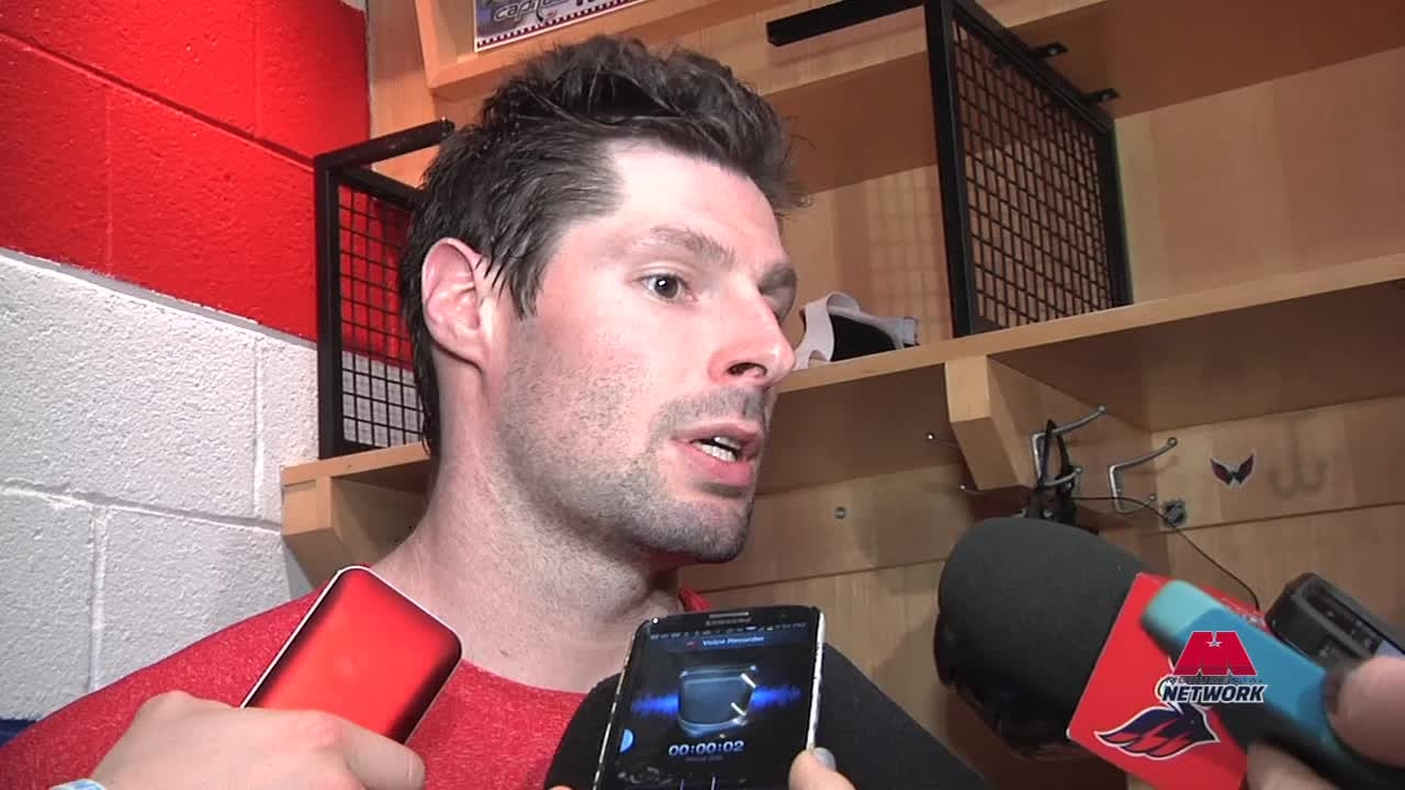 Troy Brouwer Postgame 1/2/14