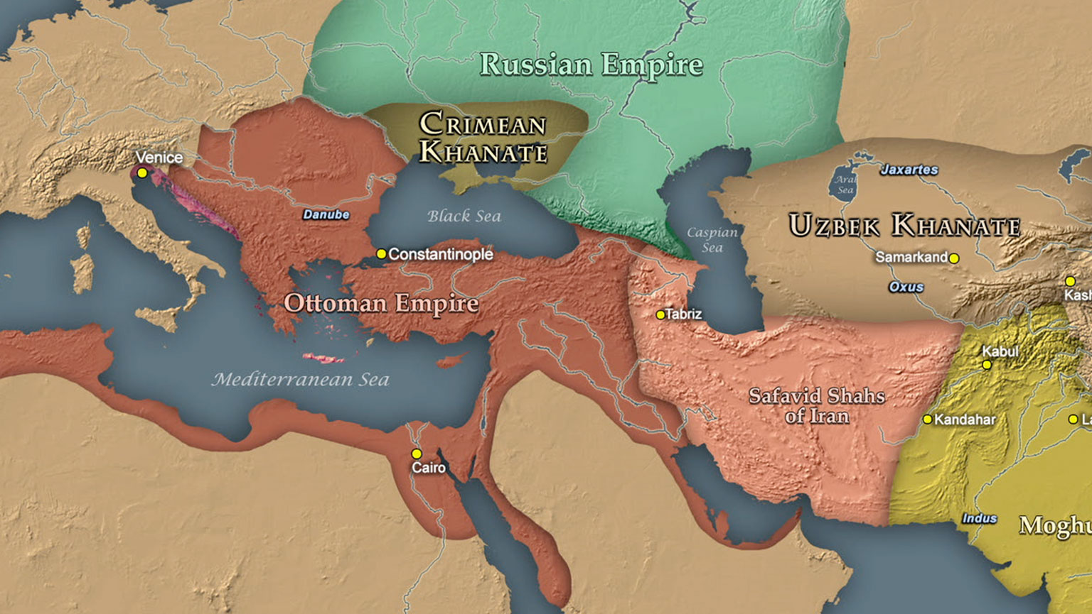 Legacy of the Steppes