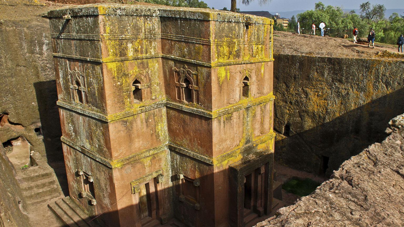 The Rock-Hewn Churches of Ethiopia