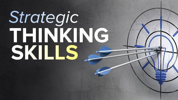 Strategic Thinking Skills The Great Courses Plus