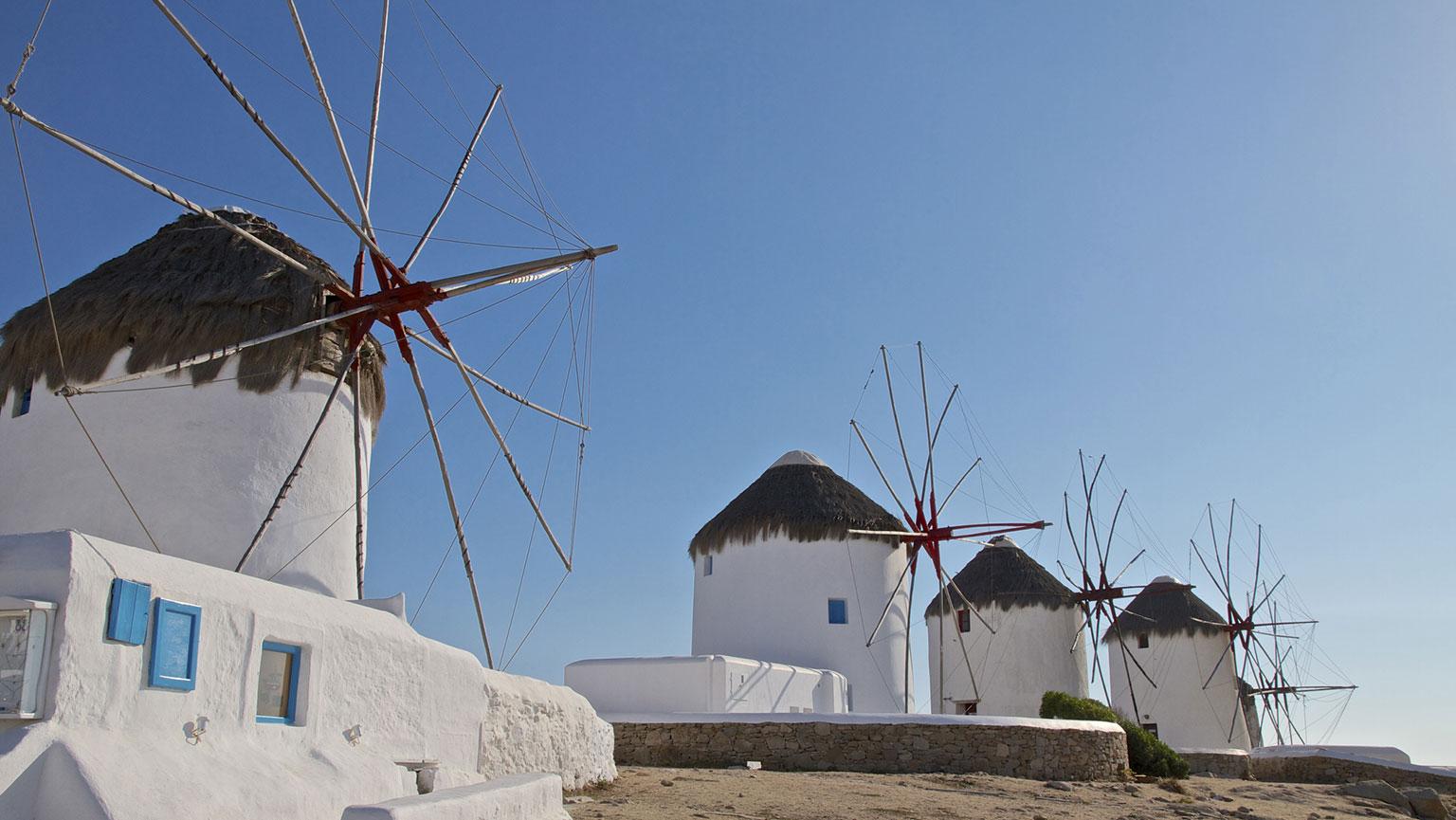 Cruising the Islands—Mykonos and Delos