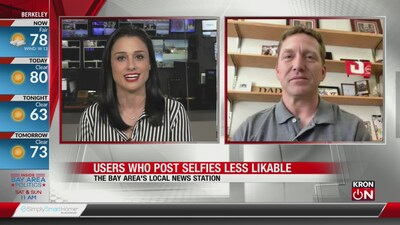 People who post selfies seen as less likable, study says