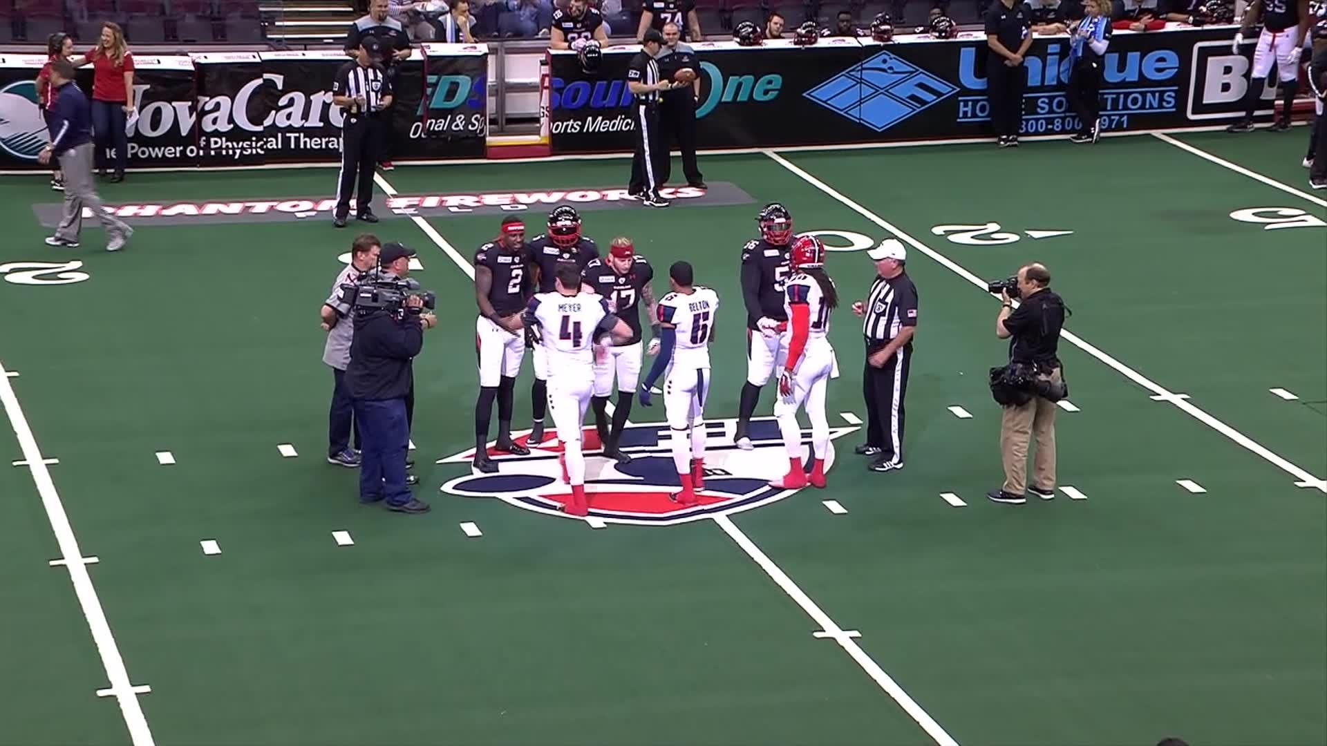AFL Week 4 Full Game: Valor @ Gladiators