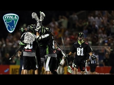 Image of 2015 MLL Semifinals Highlights: Boston Cannons at New York Lizards