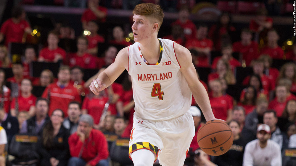 Kevin Huerter Feels He's Ready For Bigger Role With Terps
