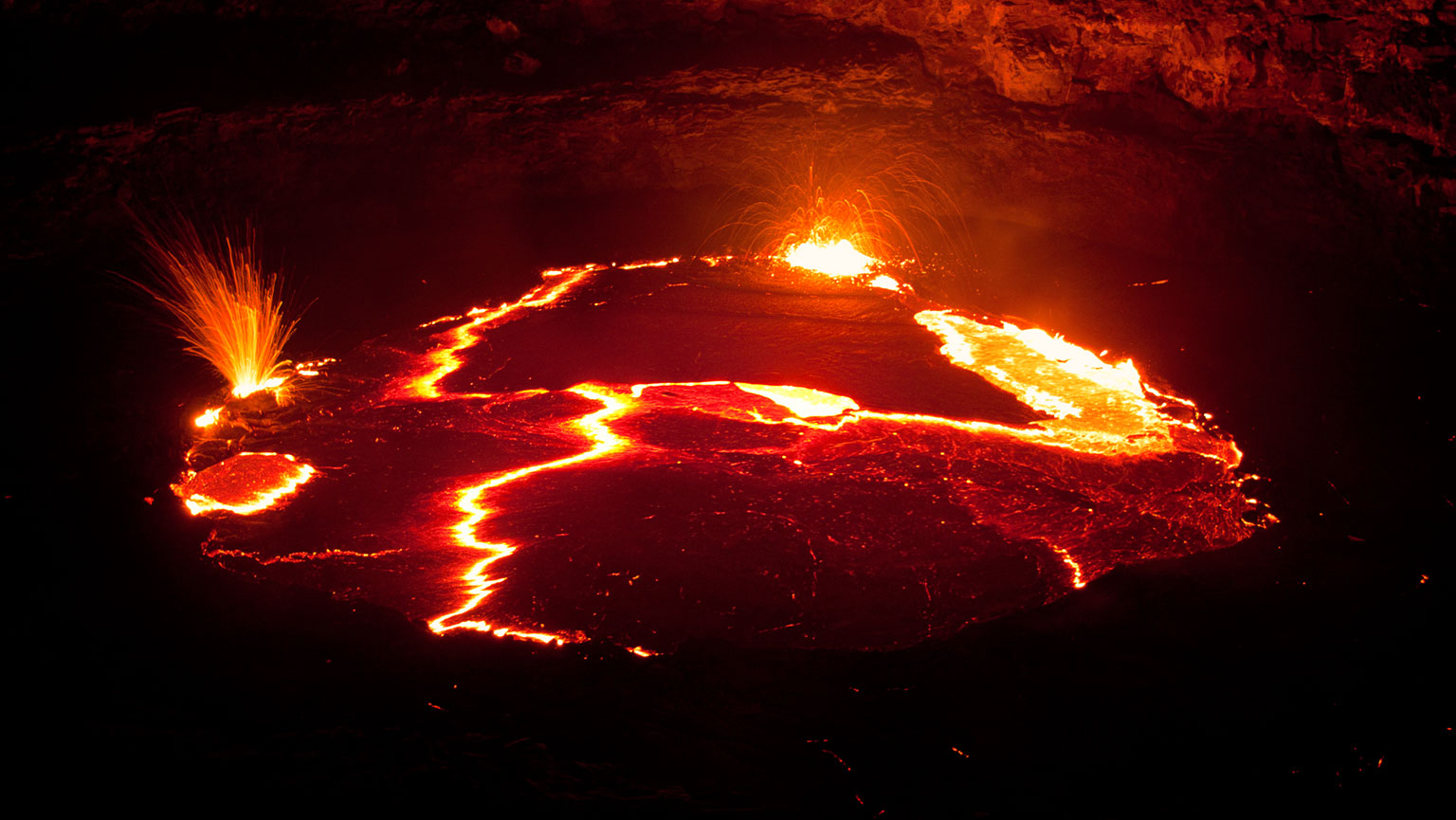 Erta Ale—Compact Fury of Lava Lakes