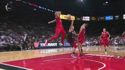 Highlights: Mystics @ Aces WNBA Semifinals Game 3