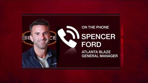 Atlanta blaze GM Spencer Ford Looking Forward to 2018 Part 2