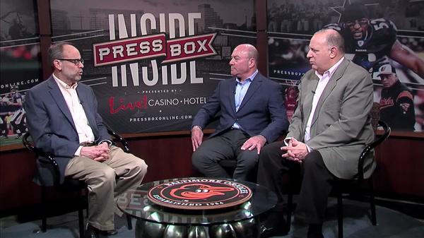 Image of Inside PressBox 4/15/18 Pt. 1: Ravens Talk With John Eisenberg