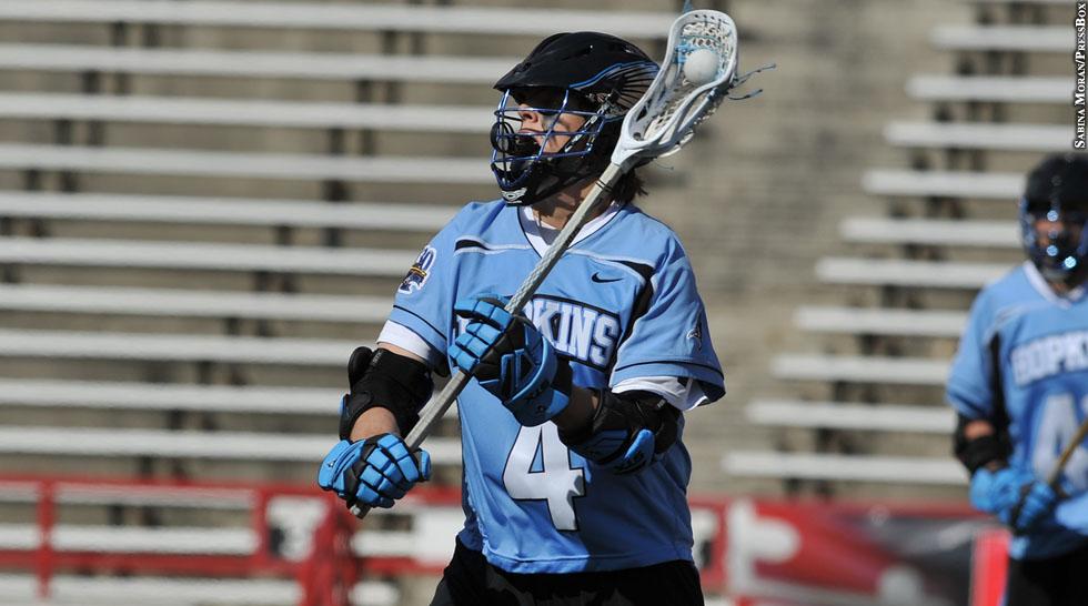 Lacrosse Report Q Amp A Johns Hopkins Attackman Ryan Brown