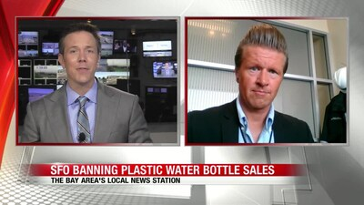 SFO banning plastic water bottle sales