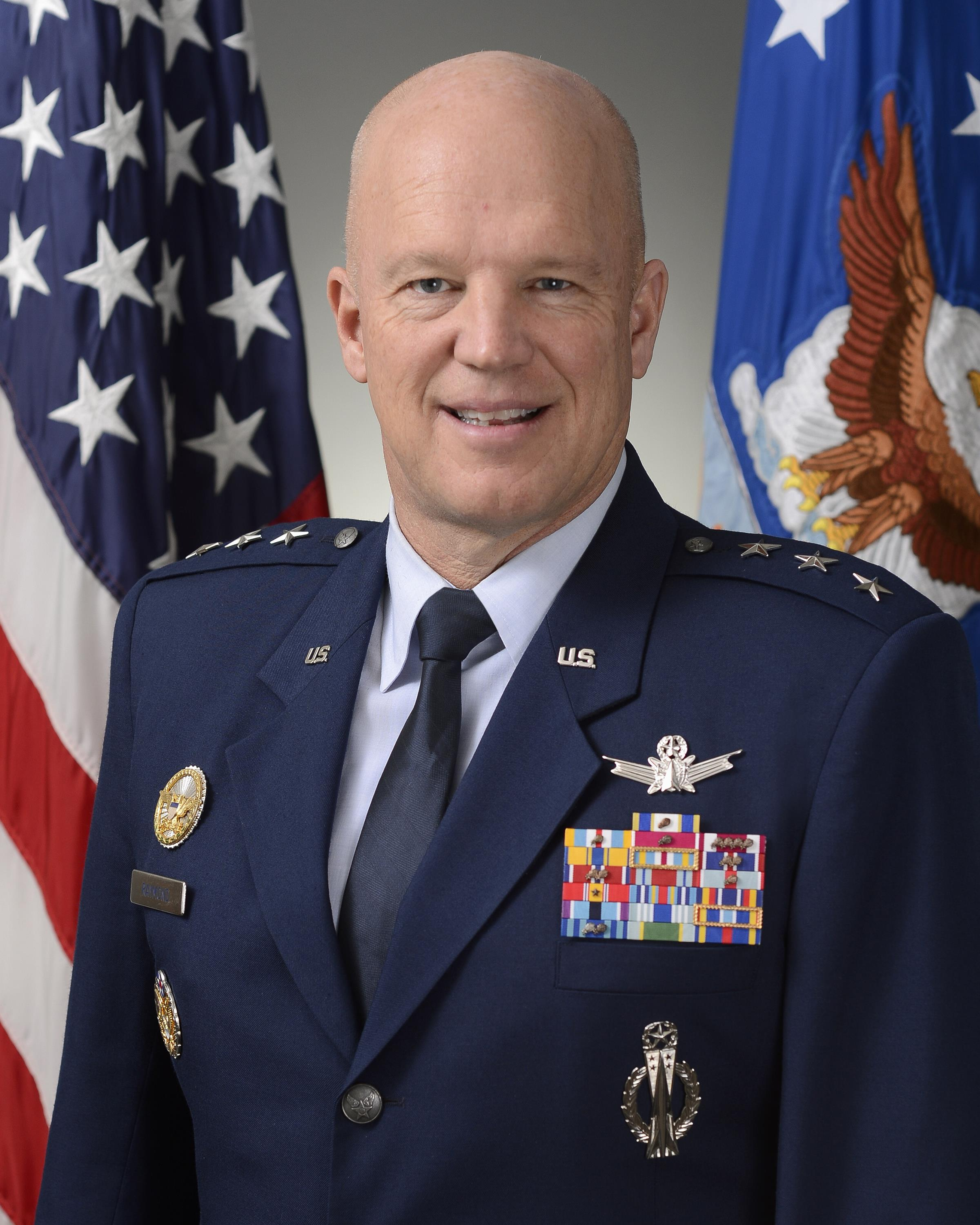 Lt  Gen  Raymond nominated to lead Space Command, get fourth star