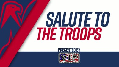 #CapsJackets Game 5 Salute to the Troops 4/21/18