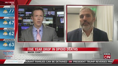 Marin County: 5 year drop in opioid deaths