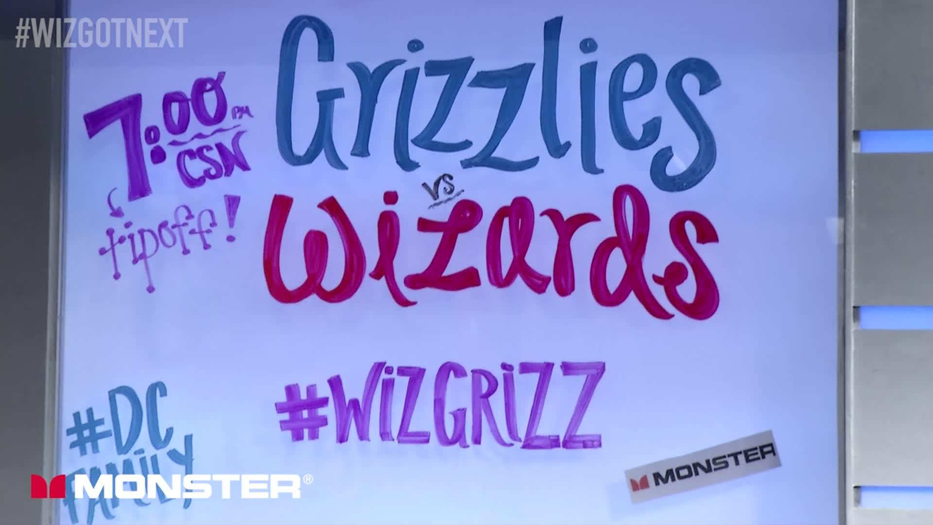 Wiz Got Next: Wizards vs Grizzlies Pt 3 - 1-18-17