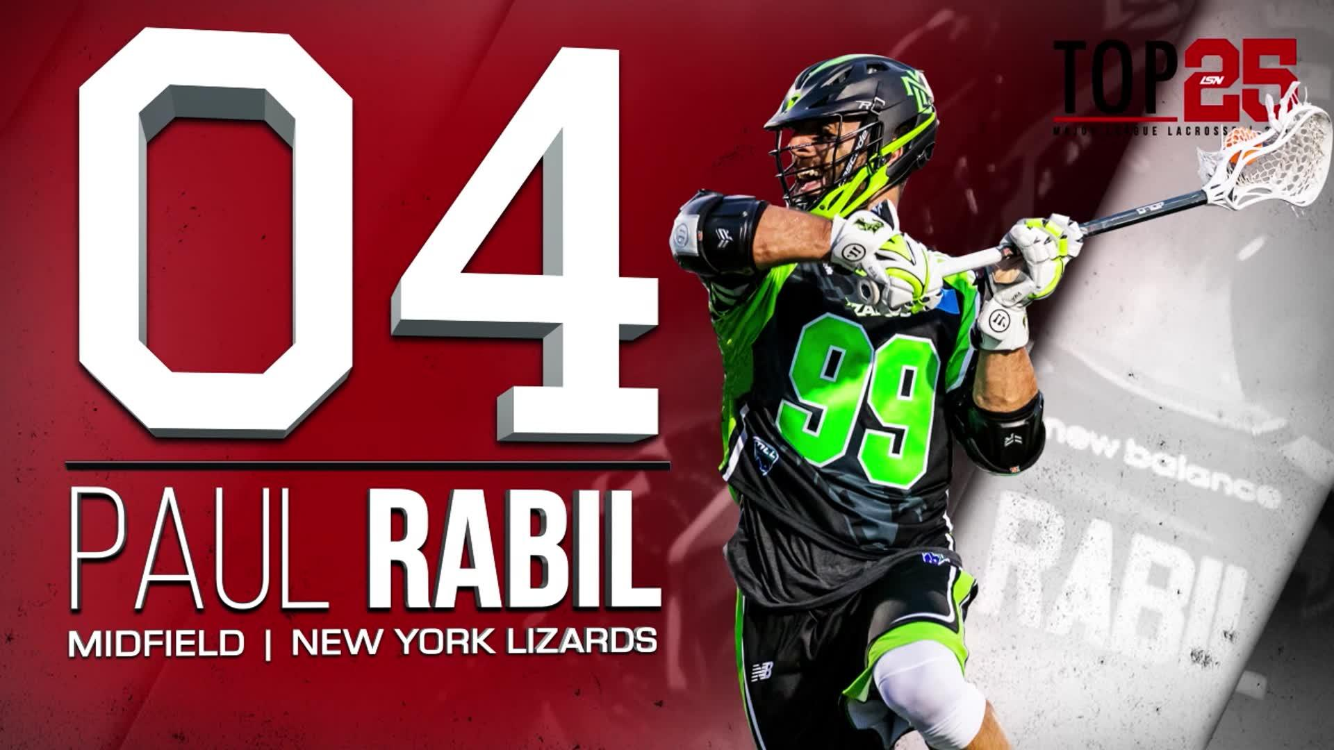 2017 #MLLTop25 Number 4 Paul Rabil
