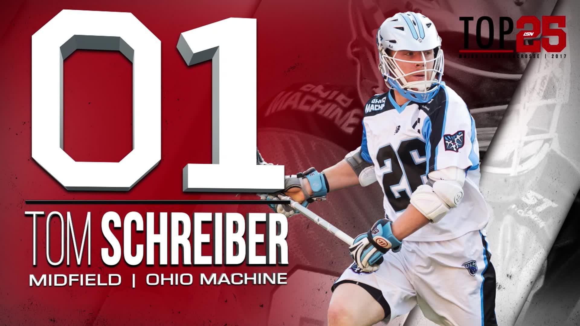 2017 #MLLTop25 Number 1 Tom Schreiber
