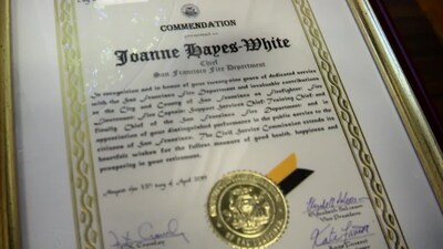 SF Fire Chief Joanne Hayes-White retires