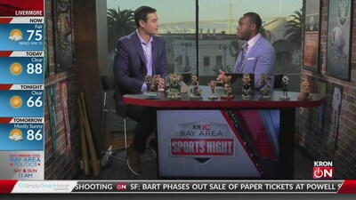 Bay Area Sports Night Sept. 3, 2019