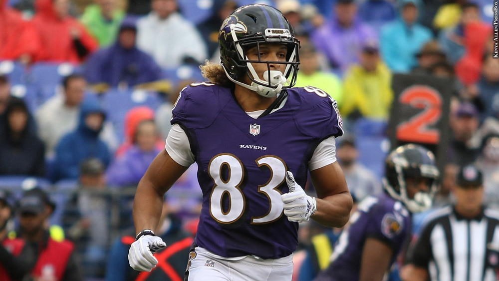 on sale 9565f cd6b6 Ravens WR Willie Snead Set To Face Former Team