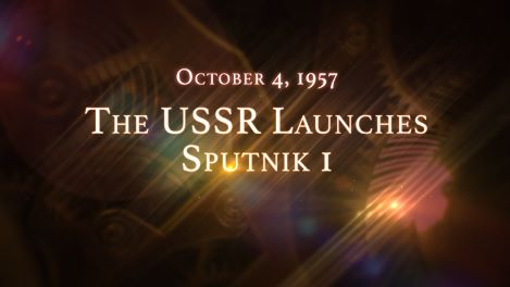 October 4, 1957: The USSR Launches Sputnik 1