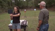 Lena's Trick Shooting
