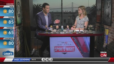 Bay Area Sports Night July 31, 2019