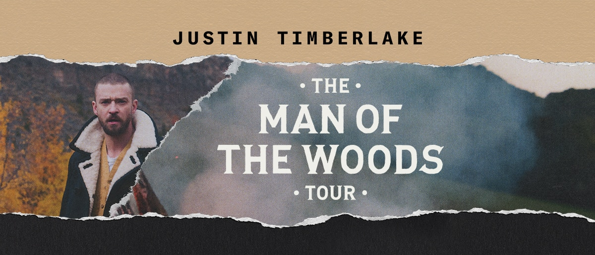 Justin Timberlake: The Man Of The Woods Tour January 2019