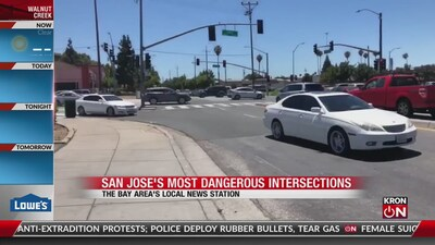 San Jose's most dangerous intersections